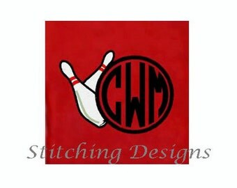 Monogramed Bowling Towel - 8 towel colors available
