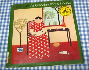 at grandmother's house, vintage 1977 children's book