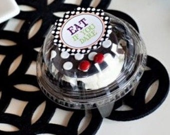 60 Clear Cupcake Boxes - Perfect for Shower Favors, Birthday Favors