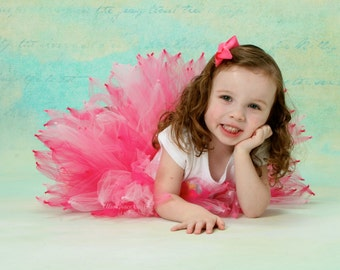 Valentine's Day Tutu:  Pink Pixie Tutu - Toddler Sizes