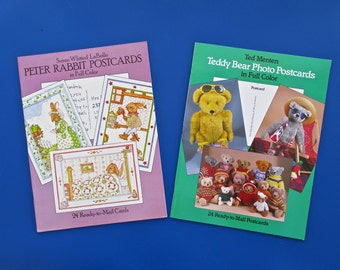 Peter Rabbit Postcards  Or Teddy Bear Postcards