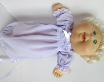 """14"""" Baby Cabbage Patch Lavender Nightgown"""