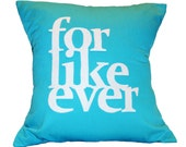"""16""""X16"""" For Like Ever Pillow Cover 