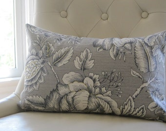 chair pillows, grey pillow cover, floral pillow covers, pillow covers, neutral chair pillows, 12x18, grey lumbars, floral lumbars, pillows