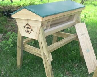 Hive Blueprints Build Your Own Top Bar Hive