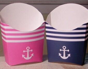 72 Color Options - Nautical Favor Box - Set of 12
