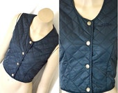 Original GUESS Quilted Cropped Vest Size small