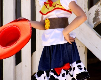 Inspired from Toy story Jessie costume perfect for Disneyland trip,birthday, pageant,Halloween costume