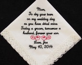 Wedding Handkerchief embr...