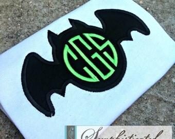 Bat Monogram Shirt - You Customize