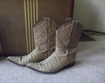 Alligator Cowboy boots