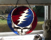 Steal-Your-Face Stained Glass Suncatcher
