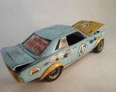 1/24 scale model car toyota celica in blue