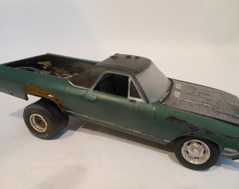 green scale model el camino car 1/24