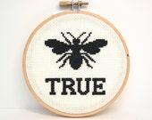 Be True cross stitch