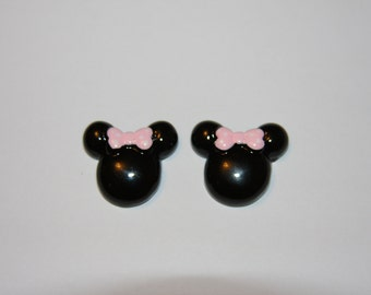 Mouse Head Resins- Set of 2