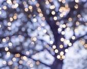 abstract light photography bokeh 8x10 8x12 fine art photography winter decor lilac photo fairy lights photography abstract golden purple art