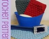 Nubby Scrubbies Crochet Pattern