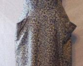 Reserve - Abstract Milton Lippman 1940s Rayon Sheath Dress