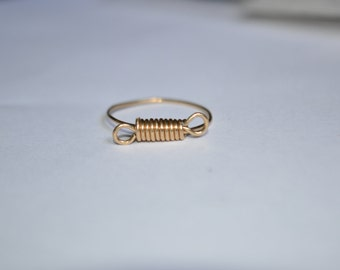 14k Gold Filled Wrapped Ring