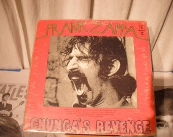 Frank Zappa Chungas Revenge 1970 on Bizarre Records Flo And Eddie 1st Appearance Solo Lp 3rd