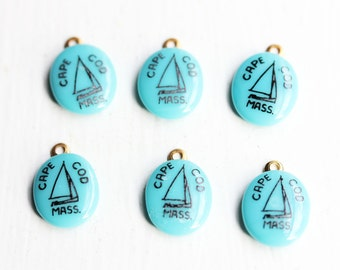 Oval Cape Cod Charms (6x)