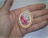 Lily, Cross Stitch, miniature