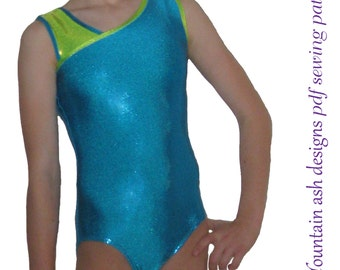 Leotards 3 pdf Sewing pattern gymnastics leotard, ballet jazz dance gym