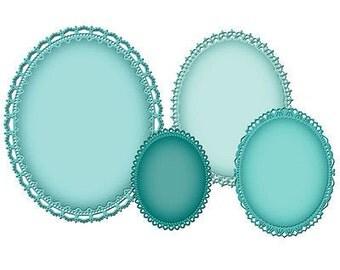 DIE CUTOUTS ~ of Spellbinders ~ Grand Decorative Ovals
