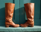 Vintage Frye Boots Camel sz 8.5