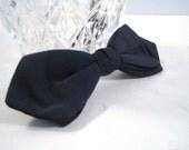 Vintage WEMBLEY  Bow tie Formal Black Bow tie