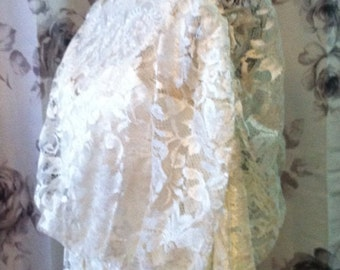 Downton abbey era style lace dress