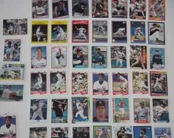 Chicago White Sox Baseball  Trading Cards Vintage Lot of 50 Cards Tom Seaver