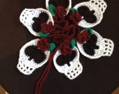 Day of the dead crochet bunting
