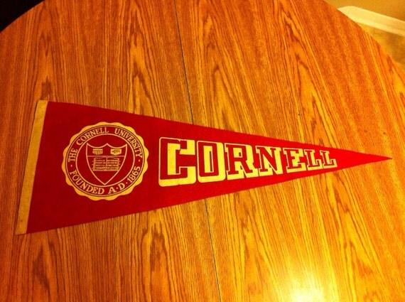 Cornell University Vintage Felt Pennant