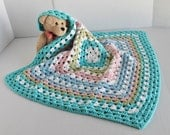 Granny Square Baby Afghan - Pastels