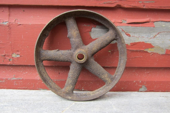 fer antique roue chariot industriel roue ancienne patine. Black Bedroom Furniture Sets. Home Design Ideas