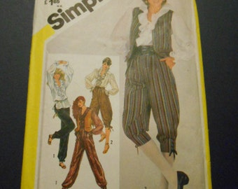 Simplicity  5483, Knickers, Blouse, Pants, Vest,  Size 14