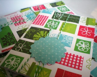 Christmas Card Set of 6 with Envelopes
