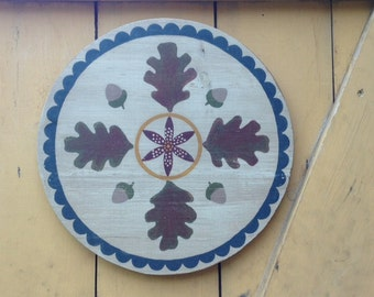 Oak Leaf Hex sign