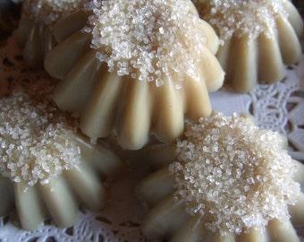 VANILLA CARAMEL TRUFFLES Premium soy and beeswax Melting tarts cakes sweet treats caramel candy wax melts made in montana soy & beeswax tart
