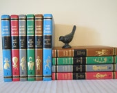 VINTAGE 1962 Collier's Junior Classics - complete ten volume set, instant collection, first edition