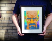 Breaking Bad Walter White Heisenberg Gift Limited Edition Digital Archival Fine Art Photograph Print Poster Custom Size