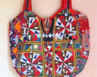 "Vintage Handmade Tribal Banjara Bag  ""Price Reduced"""
