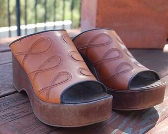 BEYMA 37 clogs mules womens shoes made in SPAIN hippie bohemian boho