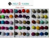 Bulk Felt balls 2 cm, wholesale felt balls, custom color felt balls, felted balls, felt balls wholesale
