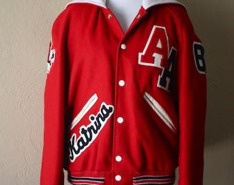Vintage High School Letterman Jacket