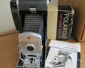 Vintage Polaroid Land Camera - Model 160