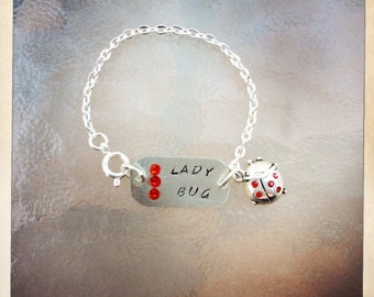 Personalized and Customized Childrens Bracelets