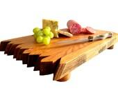 Bourbon & Wine Barrel Cutting Boards (Cheese board, serving tray, oak, natural)